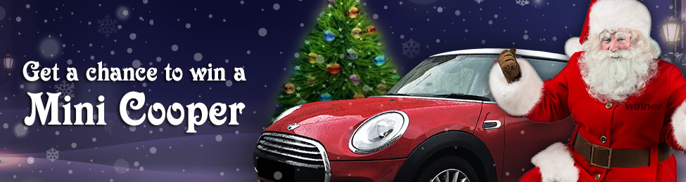 Win a Luxurious Mini Cooper Car Plus a Total of £1,000