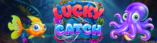 Lucky Catch Slot - 50 FREE SPINS